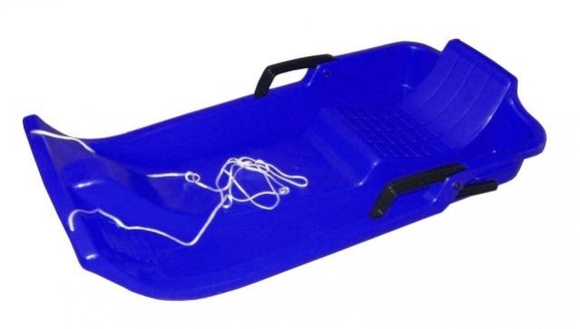 kluzák plastový Acra UFO modrý